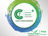 Carbon Neutral Plus for the 3rd year running