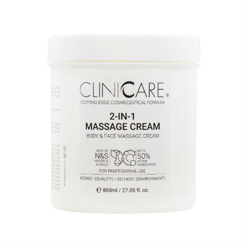 CLINICCARE 2 in 1 Massage Cream