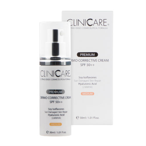 CLINICCARE Dermo Corrective Cream SPF50 (Medium)