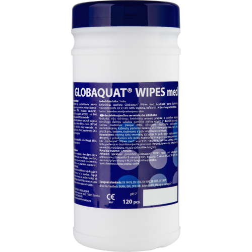 Globaquat Wipes Alcohol Free