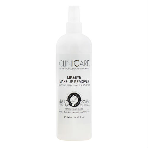 CLINICCARE Lip & Eye Make-Up Remover 500ml