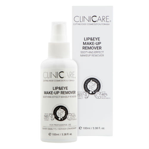 CLINICCARE Lip & Eye Make-Up Remover 100ml